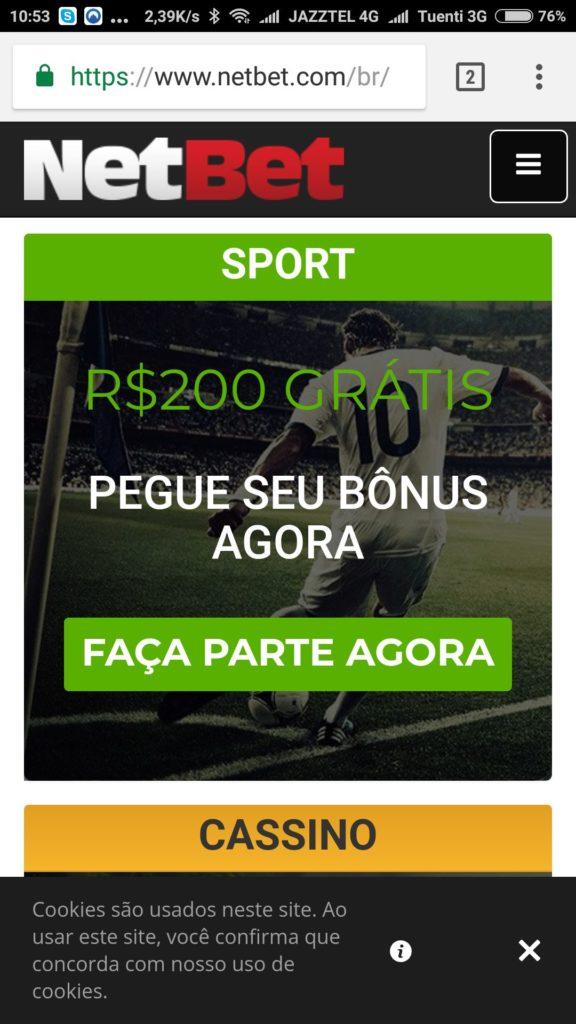 netbet bonus 200
