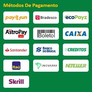 betgold métodos do pagamento