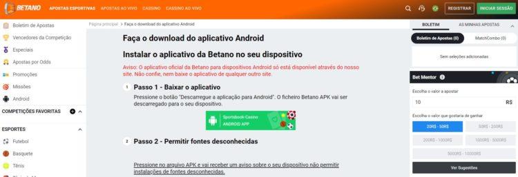 app-betano